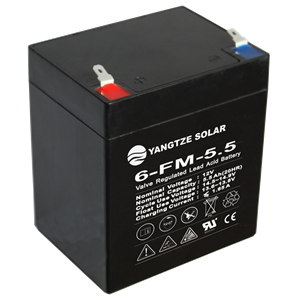 12V 5.5Ah Lead Acid Battery