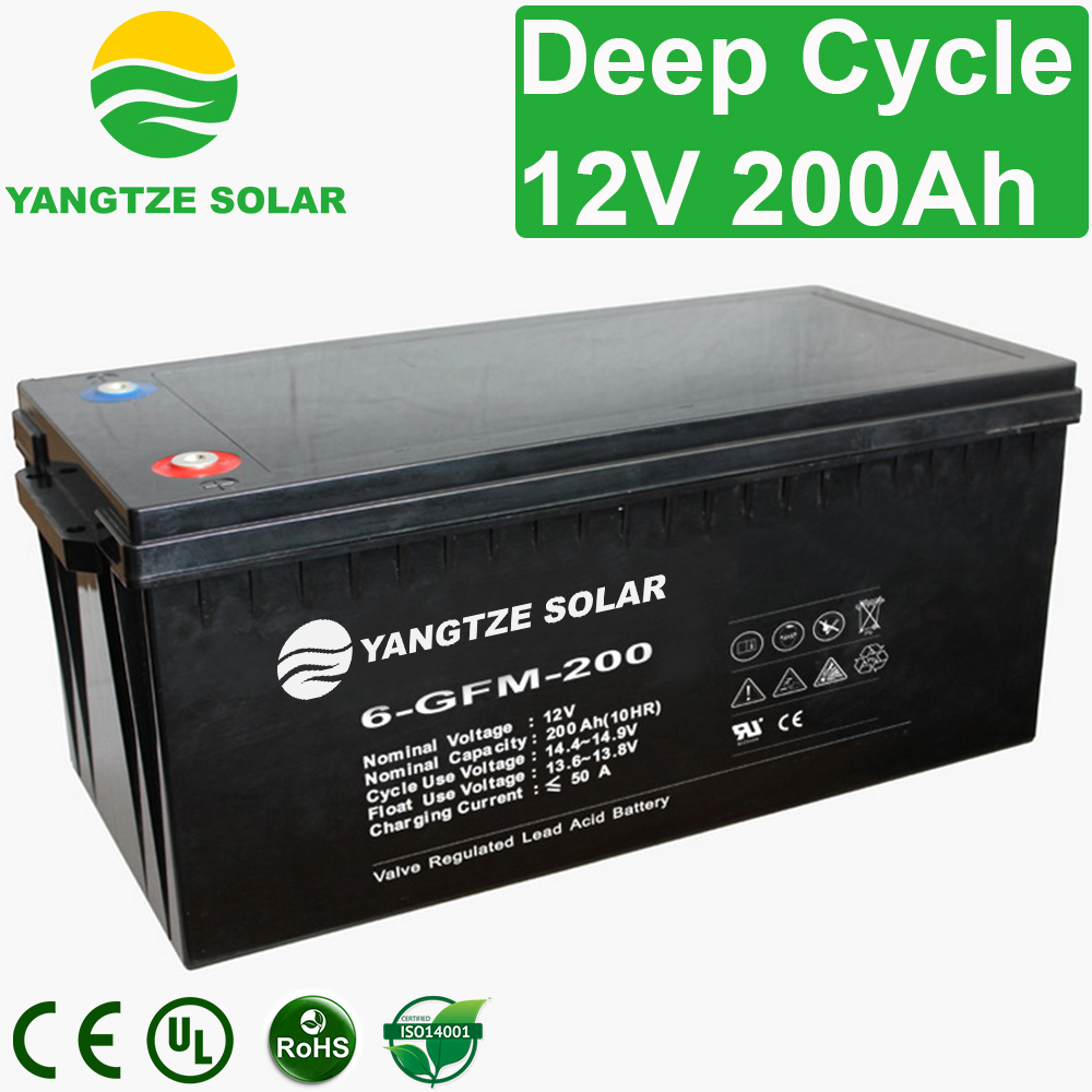 12V 200Ah Deep Cycle Battery Manufacturers, 12V 200Ah Deep Cycle Battery Factory, Supply 12V 200Ah Deep Cycle Battery