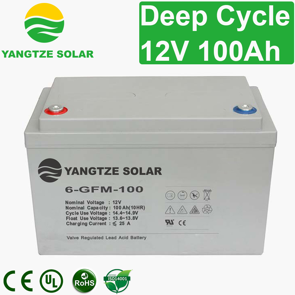12V 100Ah Deep Cycle Battery Manufacturers, 12V 100Ah Deep Cycle Battery Factory, Supply 12V 100Ah Deep Cycle Battery