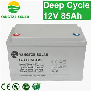 12V 85Ah Deep Cycle Battery Manufacturers, 12V 85Ah Deep Cycle Battery Factory, Supply 12V 85Ah Deep Cycle Battery