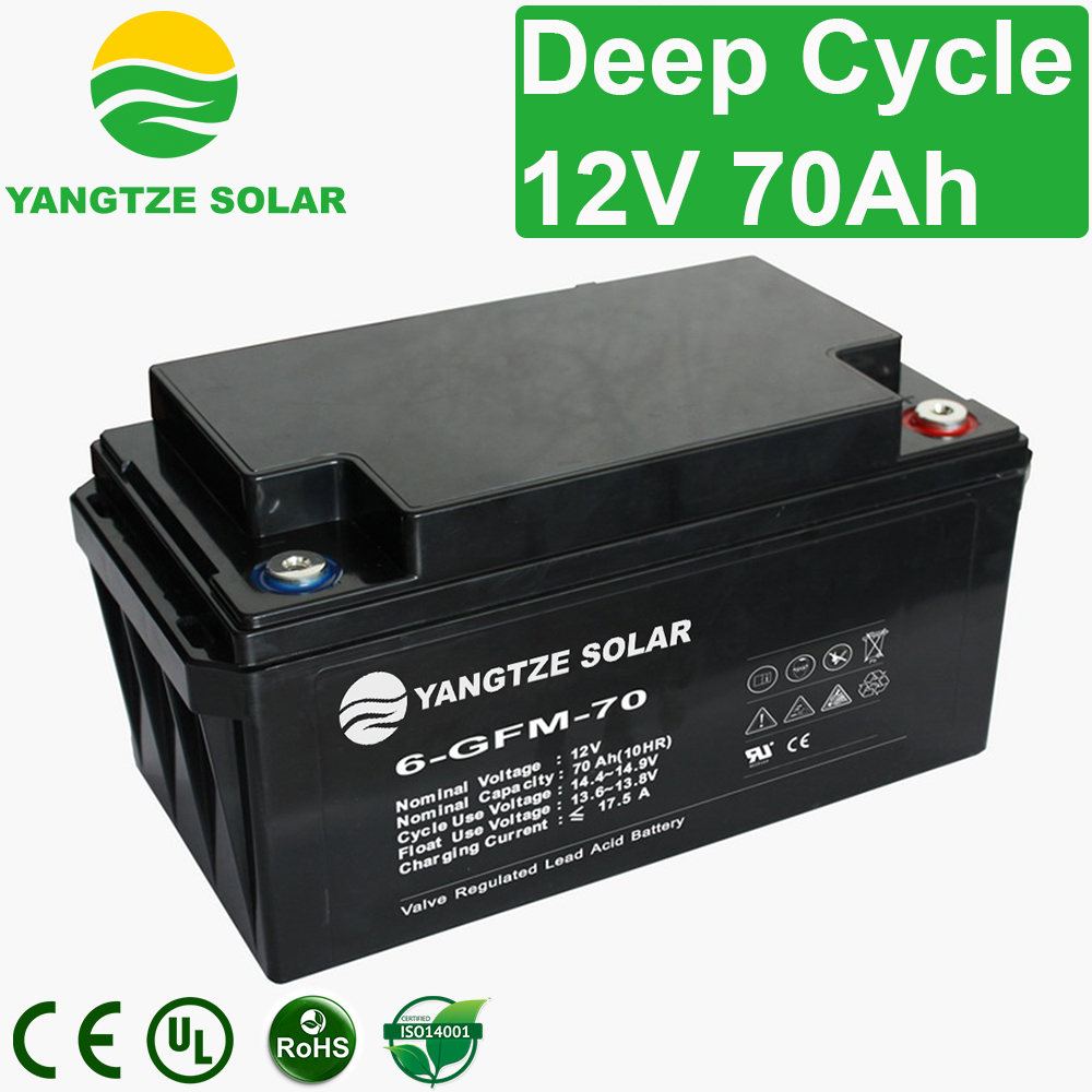 12V 70Ah Deep Cycle Battery Manufacturers, 12V 70Ah Deep Cycle Battery Factory, Supply 12V 70Ah Deep Cycle Battery