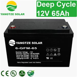 12V 65Ah Deep Cycle Battery