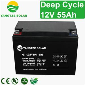 12V 55Ah Deep Cycle Battery