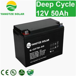 12V 50Ah Deep Cycle Battery