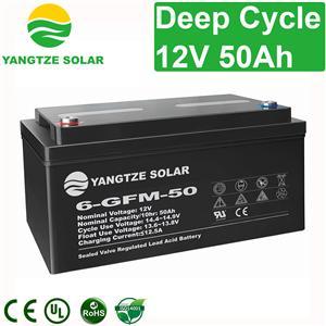 12V 50Ah Deep Cycle Battery Manufacturers, 12V 50Ah Deep Cycle Battery Factory, Supply 12V 50Ah Deep Cycle Battery