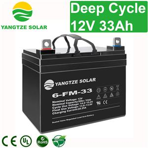 12V 33Ah Deep Cycle Battery
