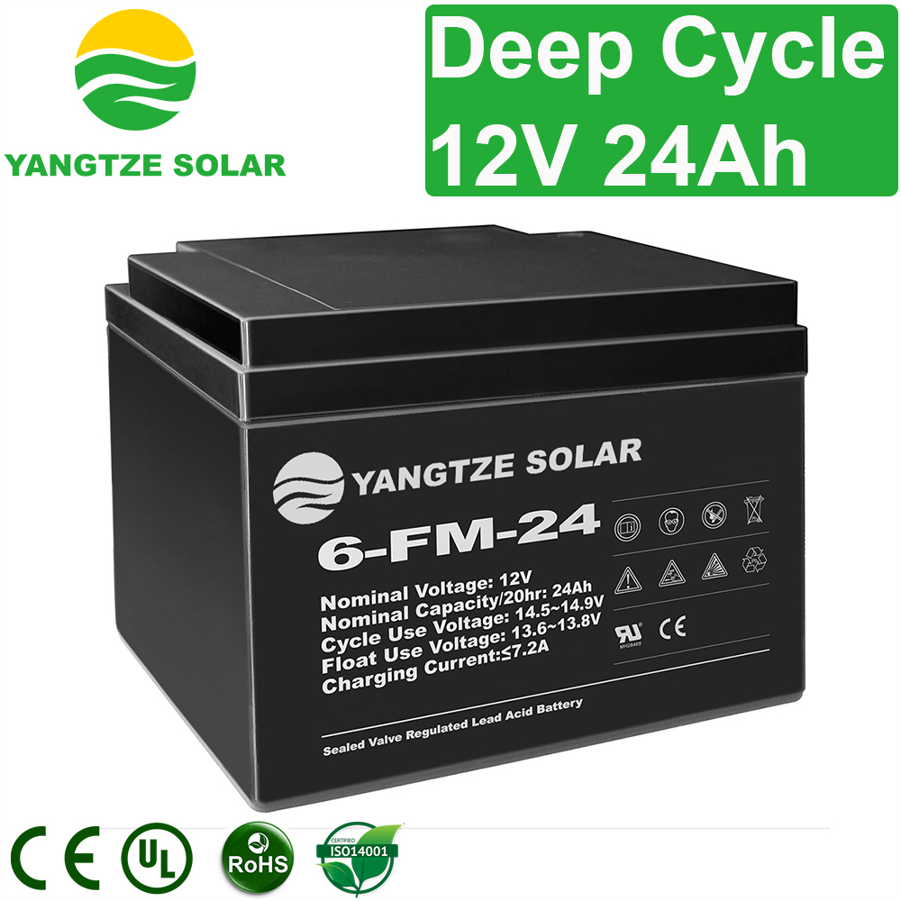 12V 24Ah Deep Cycle Battery Manufacturers, 12V 24Ah Deep Cycle Battery Factory, Supply 12V 24Ah Deep Cycle Battery