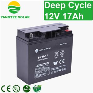 12v 17ah Deep Cycle Battery