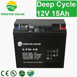 12v 15ah Deep Cycle Battery