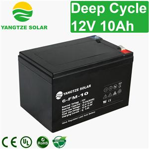 12v 10ah Deep Cycle Battery