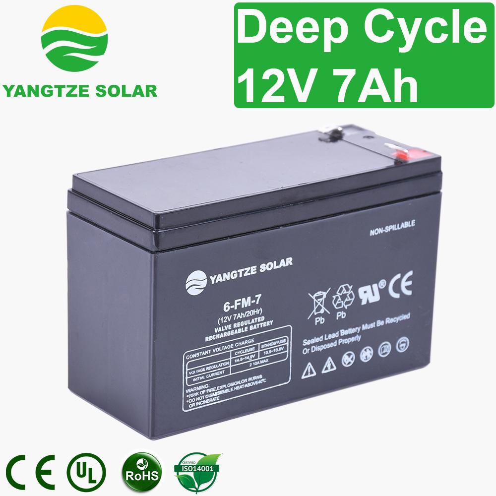 12v 7ah Deep Cycle Battery Manufacturers, 12v 7ah Deep Cycle Battery Factory, Supply 12v 7ah Deep Cycle Battery