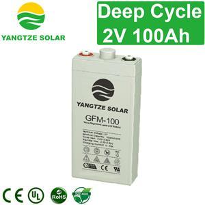 2V 100Ah Deep Cycle Battery Manufacturers, 2V 100Ah Deep Cycle Battery Factory, Supply 2V 100Ah Deep Cycle Battery