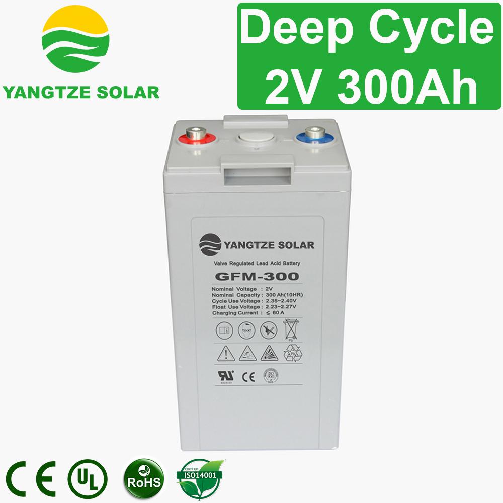 2V 300Ah Deep Cycle Battery Manufacturers, 2V 300Ah Deep Cycle Battery Factory, Supply 2V 300Ah Deep Cycle Battery
