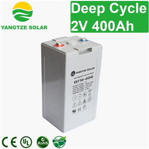 2V 400Ah Deep Cycle Battery