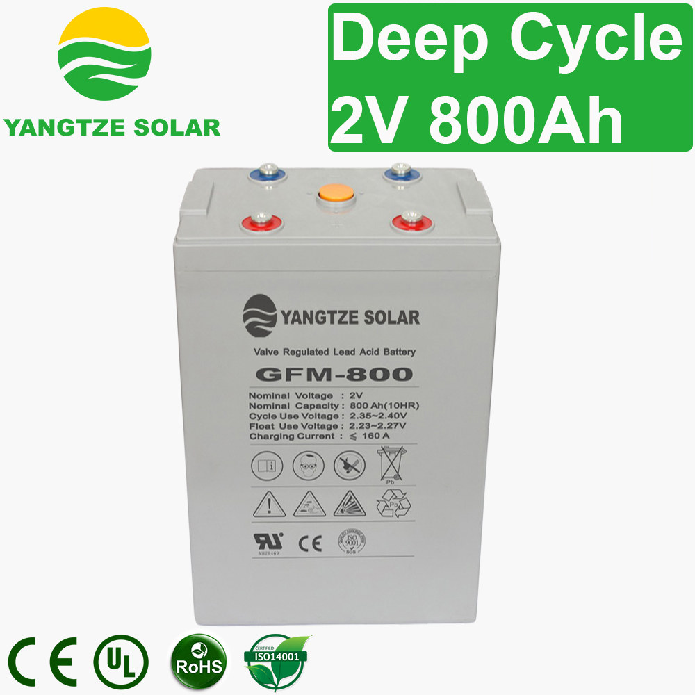 2V 800Ah Deep Cycle Battery Manufacturers, 2V 800Ah Deep Cycle Battery Factory, Supply 2V 800Ah Deep Cycle Battery