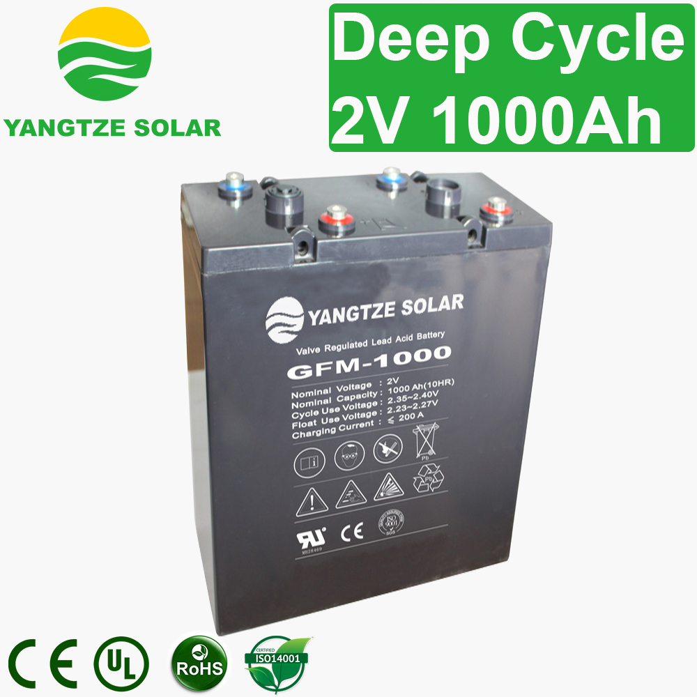 2V 1000Ah Deep Cycle Battery Manufacturers, 2V 1000Ah Deep Cycle Battery Factory, Supply 2V 1000Ah Deep Cycle Battery