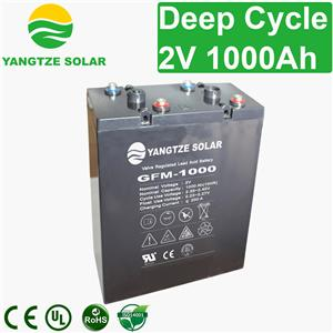 2V 1000Ah Deep Cycle Battery
