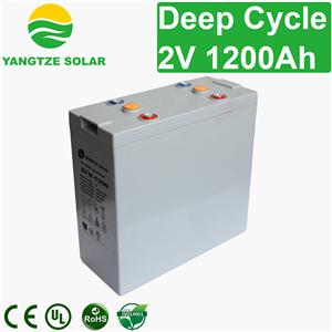 2V 1200Ah Deep Cycle Battery