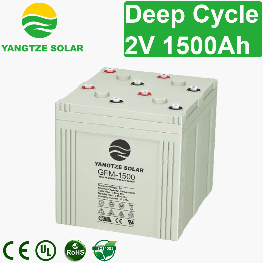 2V 1500Ah Deep Cycle Battery Manufacturers, 2V 1500Ah Deep Cycle Battery Factory, Supply 2V 1500Ah Deep Cycle Battery