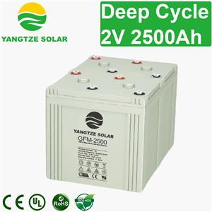 2V 2500Ah Deep Cycle Battery