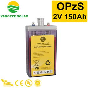 OPzS Battery 2v150ah Manufacturers, OPzS Battery 2v150ah Factory, Supply OPzS Battery 2v150ah