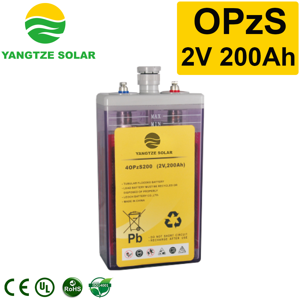 OPzS Battery 2v200ah Manufacturers, OPzS Battery 2v200ah Factory, Supply OPzS Battery 2v200ah