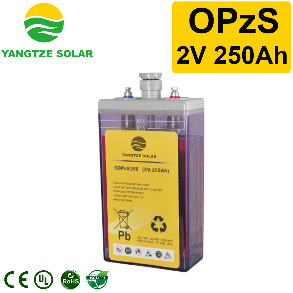 OPzS Battery 2v250ah Manufacturers, OPzS Battery 2v250ah Factory, Supply OPzS Battery 2v250ah