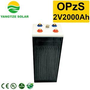 OPzS Battery 2v2000ah Manufacturers, OPzS Battery 2v2000ah Factory, Supply OPzS Battery 2v2000ah