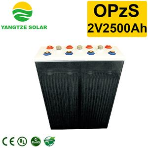 OPzS Battery 2v2500ah Manufacturers, OPzS Battery 2v2500ah Factory, Supply OPzS Battery 2v2500ah
