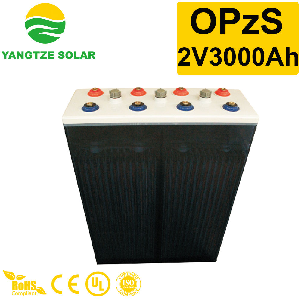 OPzS Battery 2v3000ah Manufacturers, OPzS Battery 2v3000ah Factory, Supply OPzS Battery 2v3000ah