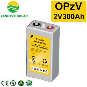 2V300Ah OPzV Battery Manufacturers, 2V300Ah OPzV Battery Factory, Supply 2V300Ah OPzV Battery