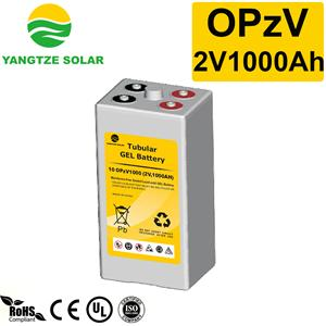 2V1000Ah OPzV Battery Manufacturers, 2V1000Ah OPzV Battery Factory, Supply 2V1000Ah OPzV Battery