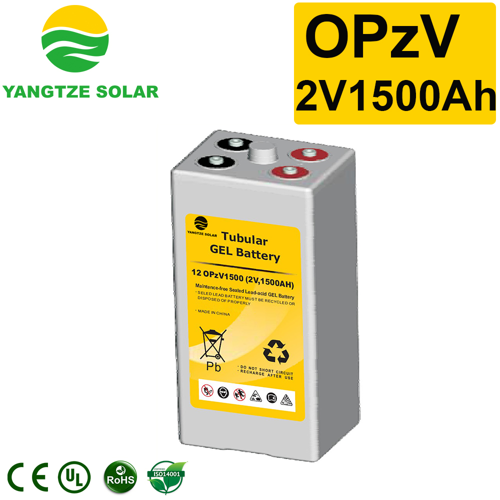 2V1500Ah OPzV Battery Manufacturers, 2V1500Ah OPzV Battery Factory, Supply 2V1500Ah OPzV Battery