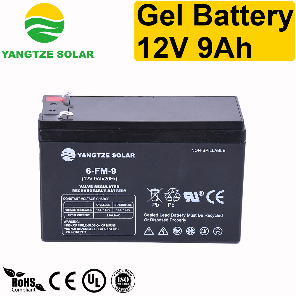 Gel Battery 12v 9ah Manufacturers, Gel Battery 12v 9ah Factory, Supply Gel Battery 12v 9ah