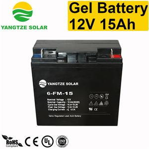 Gel Battery 12v 15ah