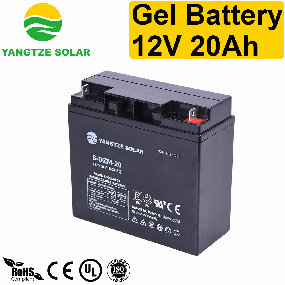 Gel Battery 12v 20ah Manufacturers, Gel Battery 12v 20ah Factory, Supply Gel Battery 12v 20ah