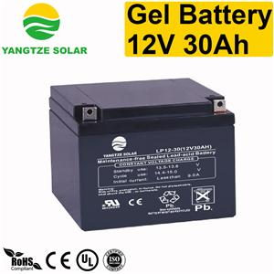 Gel Battery 12v 30ah
