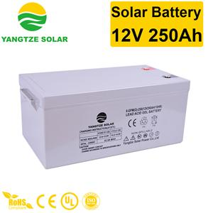 Solar Battery 12V 250Ah Manufacturers, Solar Battery 12V 250Ah Factory, Supply Solar Battery 12V 250Ah