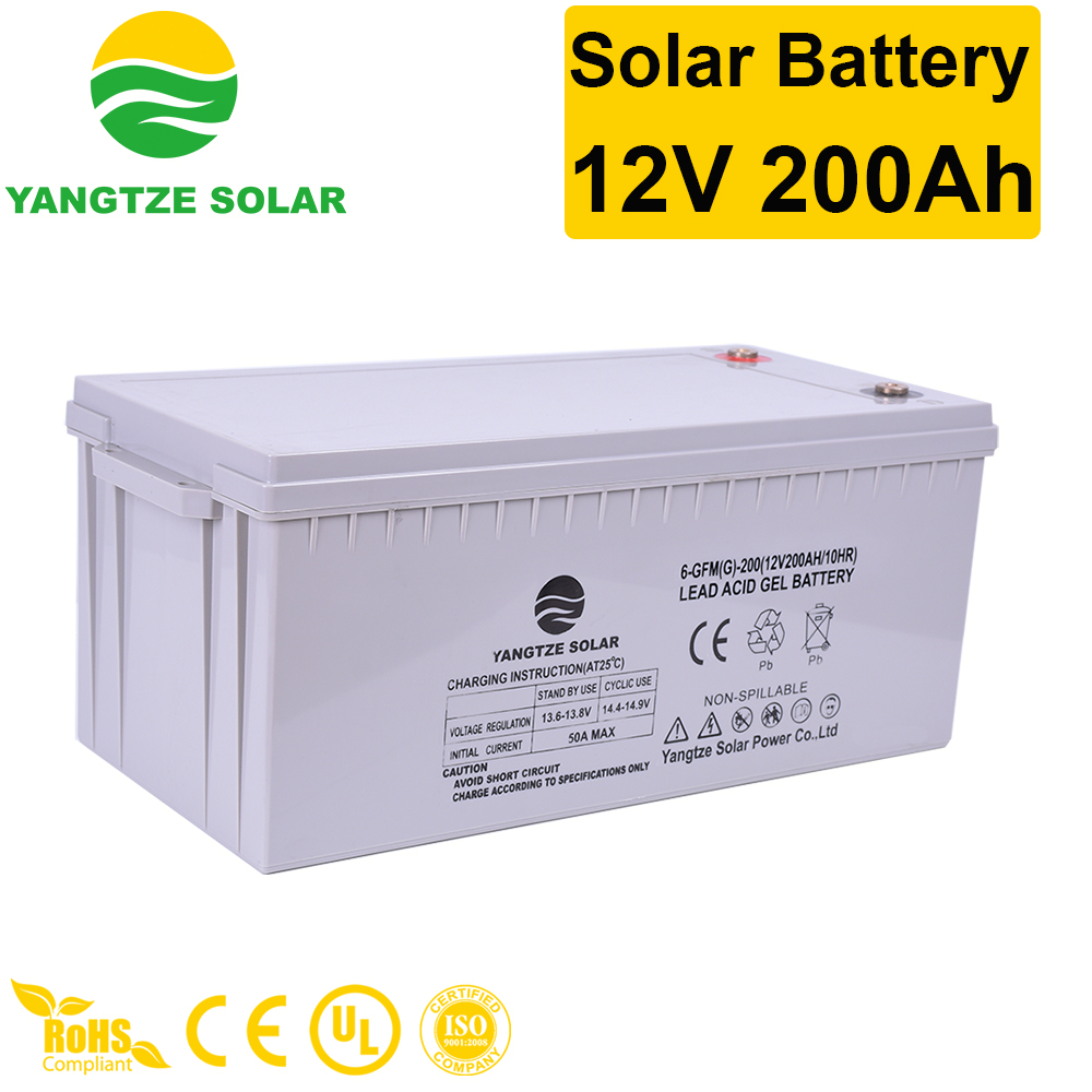 Solar Battery 12V 200Ah Manufacturers, Solar Battery 12V 200Ah Factory, Supply Solar Battery 12V 200Ah