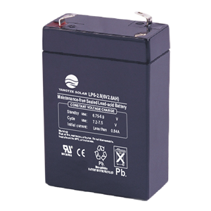 6V 2.8Ah Battery Manufacturers, 6V 2.8Ah Battery Factory, Supply 6V 2.8Ah Battery