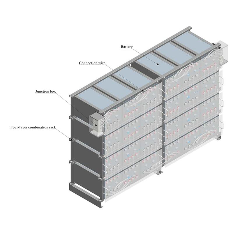 2V horizontal four-layer combination rack Manufacturers, 2V horizontal four-layer combination rack Factory, Supply 2V horizontal four-layer combination rack