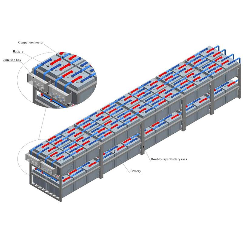 2V vertical double-layer rack Manufacturers, 2V vertical double-layer rack Factory, Supply 2V vertical double-layer rack