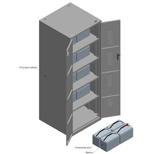 12V vertical five-layer cabinet
