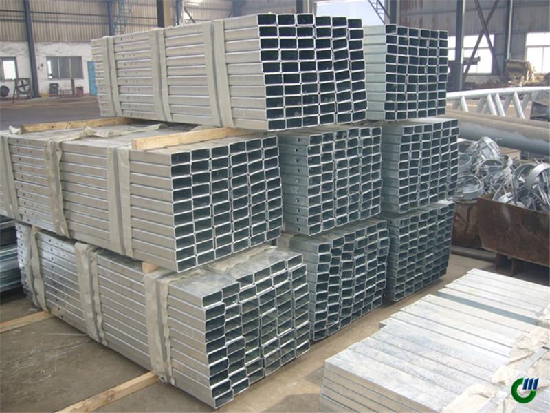 tubo rectangular galvanizado