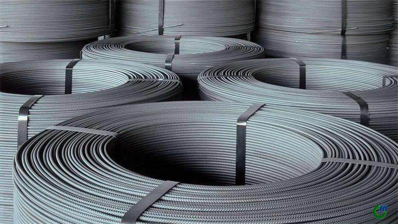 Barra redonda de acero galvanizado