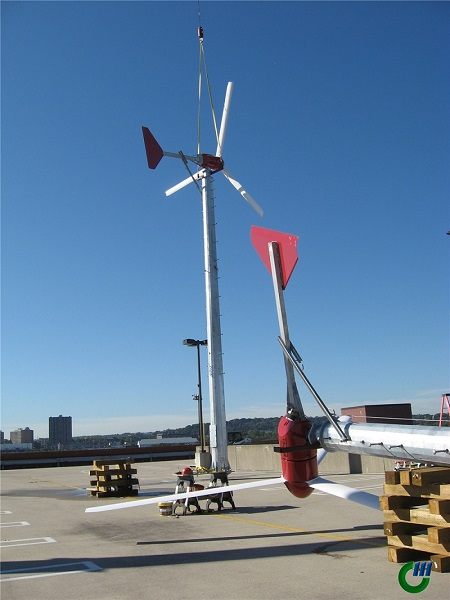 Wind Turbine Pole