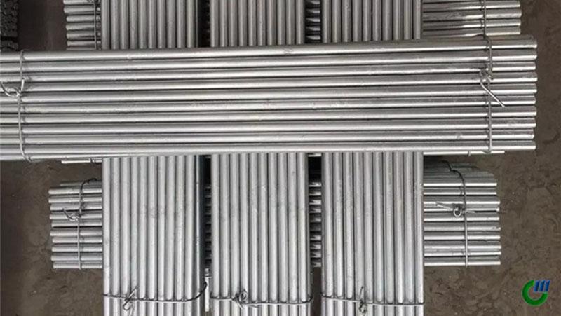 barra de acero deformada