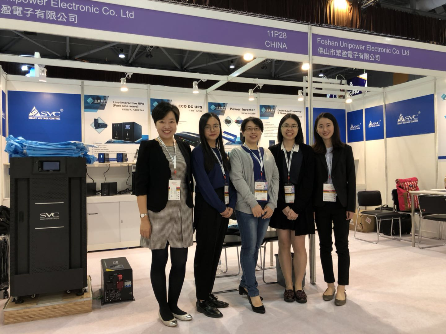 Unipower alla Global Sources Electronics Trade Show 2018