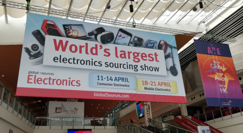Foshan Unipower sincerely invites you to attend the 2018 Global Sources Consumer Electronics trade fair