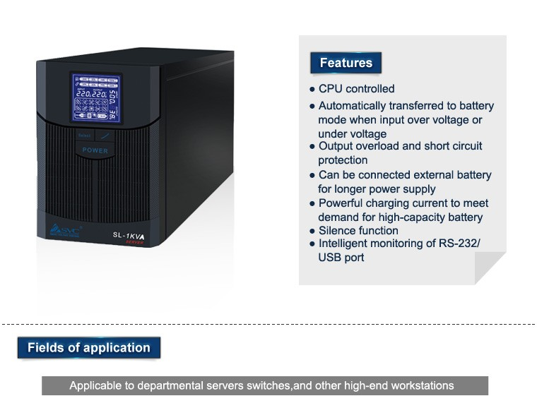 High Frequency Pure Sine Wave UPS 19